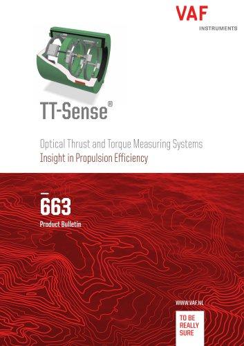 TT-Sense® Optical Thrust and Torque Measuring Systems