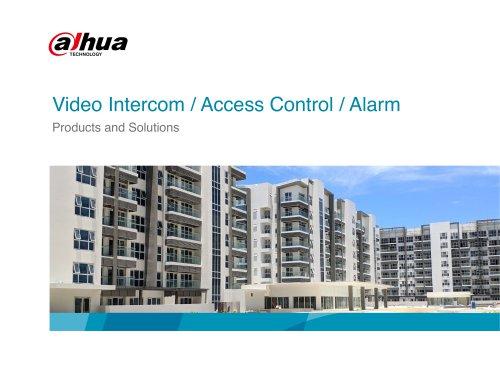 Video Intercom / Access Control / Alarm
