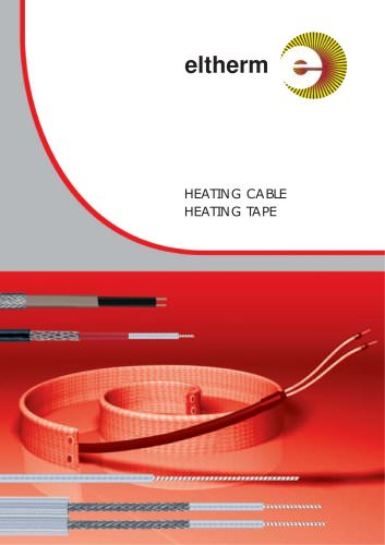 Heating cable, heating tape