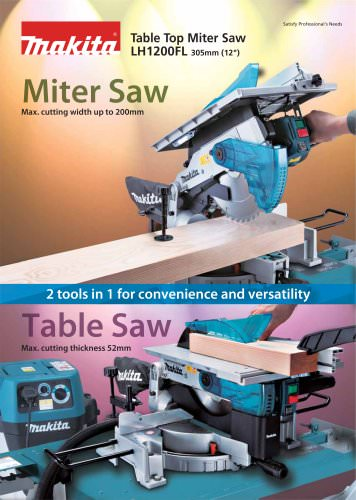 Table Top Miter Saw LH1200FL