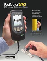 PosiTector Ultrasonic Thickness Gage