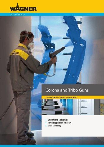 Corona and Tribo Guns