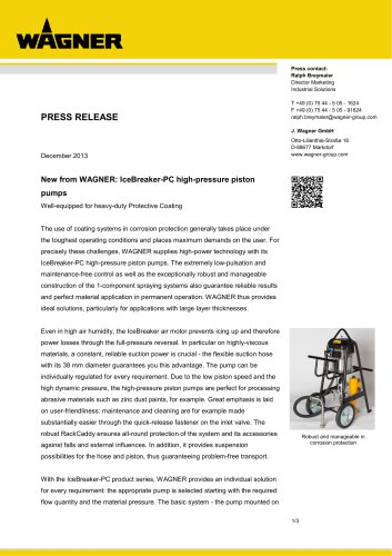 Press release IceBreaker