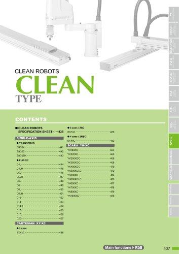 Clean robots