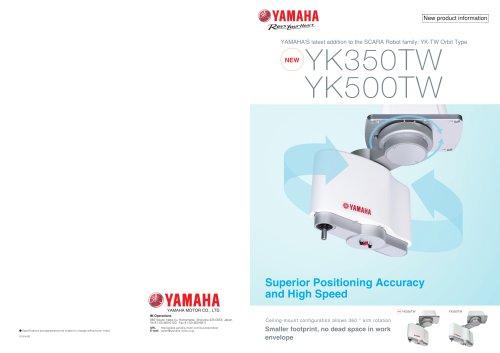 YAMAHA Orbit Type SCARA YK-TW Series
