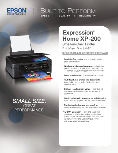 Expression Home XP-200