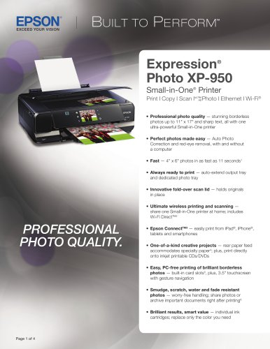 Expression Photo XP-950