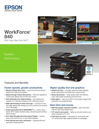 WorkForce® 840