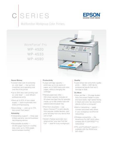 WorkForce Pro WP-4520