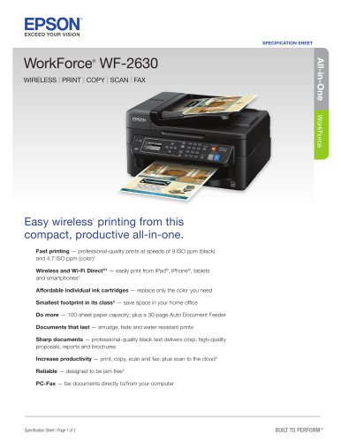 workforce WF-2630