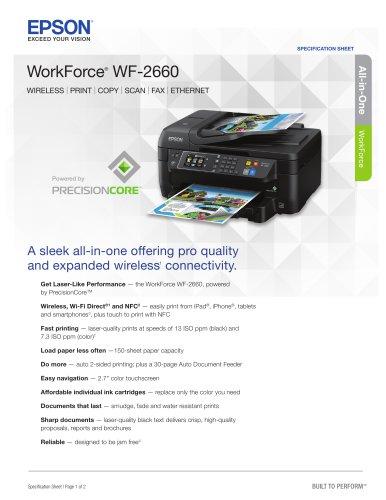 WorkForce WF-2660