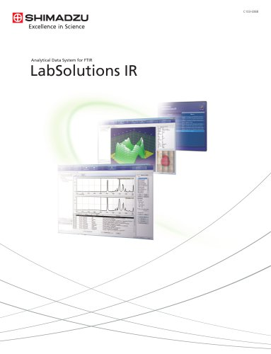 Analytical Data System for FTIR LabSolutions IR