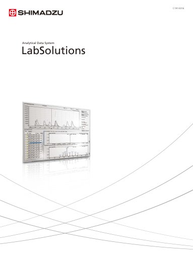 Analytical Data System LabSolutions