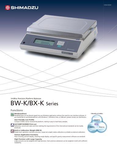 BW-K/BX-K Series