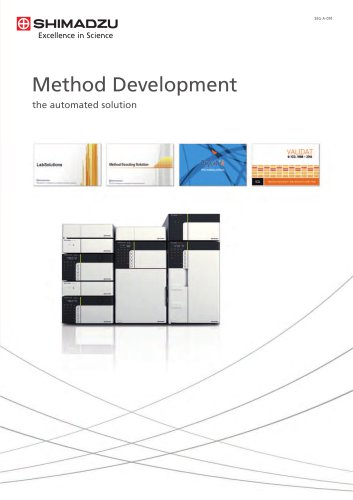 HPLC Method Development (the automated solution)