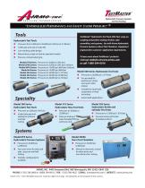 Hydrostatic Pressure Systems and Test Tooling
