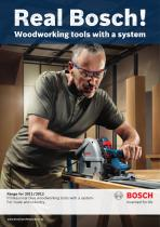 Woodworking tools with a system