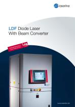 LDF diode laser with beam converter