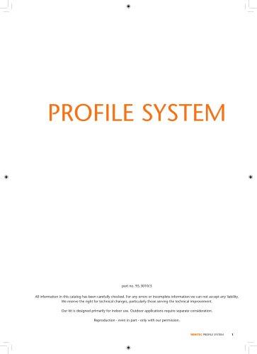 MiniTec Profile System