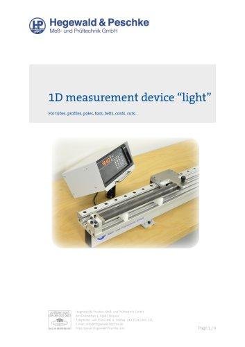 1D lightweight length measurement devices