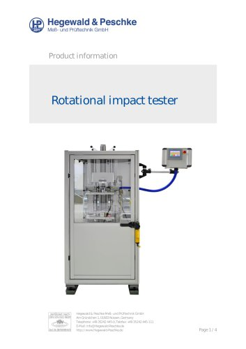 Impact tester for composites and textiles
