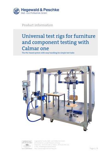 Tool box Calmar One for furniture test rigs