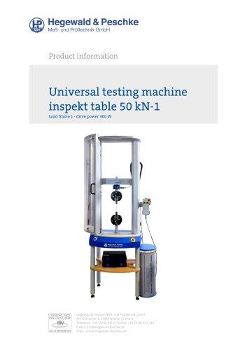 Universal testing machine inspekt table 50 kN-1