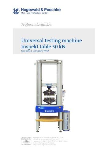 Universal testing machine inspekt table 50 kN