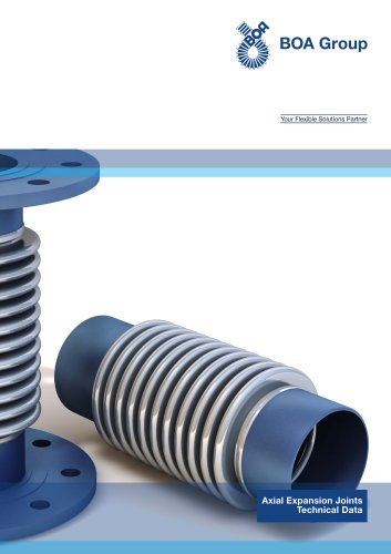 xial Expansion Joints Technical Data