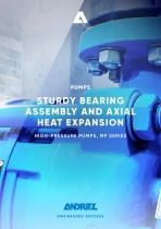 ANDRITZ high pressure pump - MP series