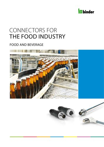 Connectors for the food industry