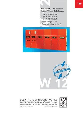 12 kV Switchgear Type W 12
