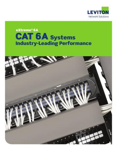 CAT 6A Brochure