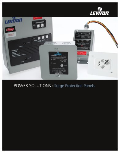 POWER SOLUTIONS :: Surge Protection Panels