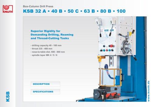 Box- Column drill Press