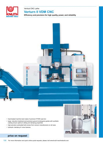 Verturn II VDM CNC
