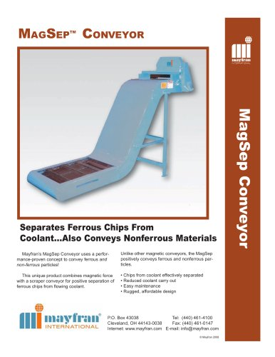 MagSep® Conveyors with Filtration