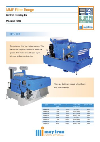 MMF Local Filtration Systems