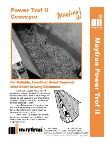 Power-Trof® Push-Bar Chip Handling Systems