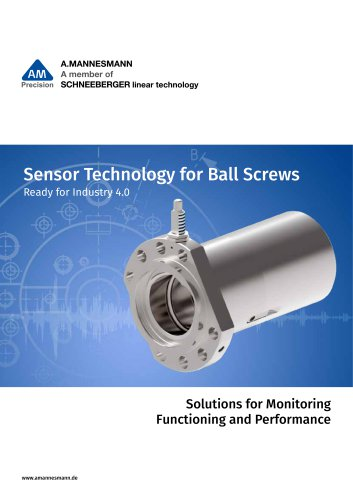 Sensor Technology for Ball Screws