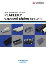 PLAFLEKY - exposed piping system