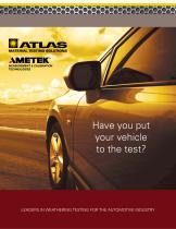 Atlas Automotive Testing Brochure