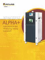 Xenotest Alpha+ Brochure