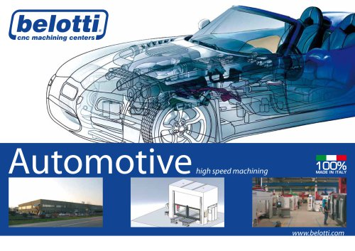 Solutions for the automotive industry