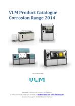 VLM Corrosion Test Cabinets 2014