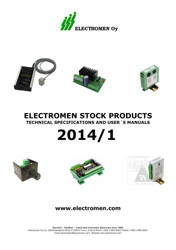 ELECTROMEN STOCK PRODUCTS