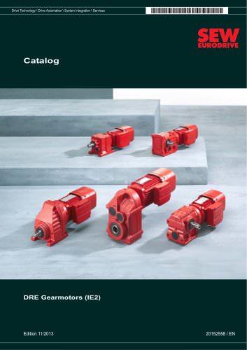DRE Gearmotors 2013 (DRE-GM)(IE2)