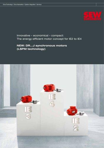 DR...J synchronous motors (LSPM technology)