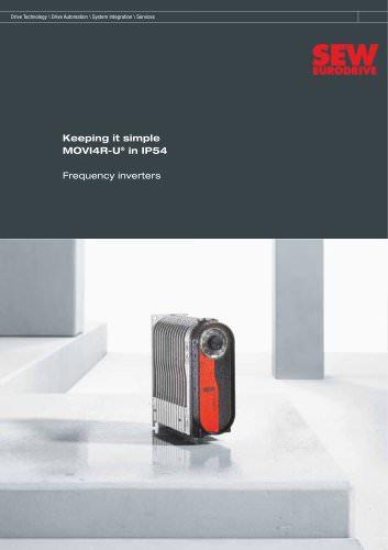 Keeping it simple MOVI4R-U® in IP54