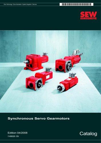 Synchronous Servo Gearmotors